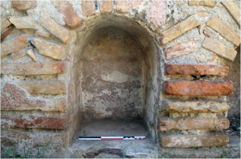 Κόγχη  ταφικού κτίσματος (columbarium)