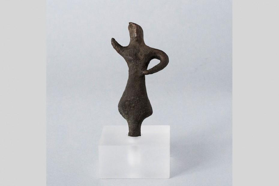 Χάλκινο αγαλμάτιο από το Παυλοπέτρι.