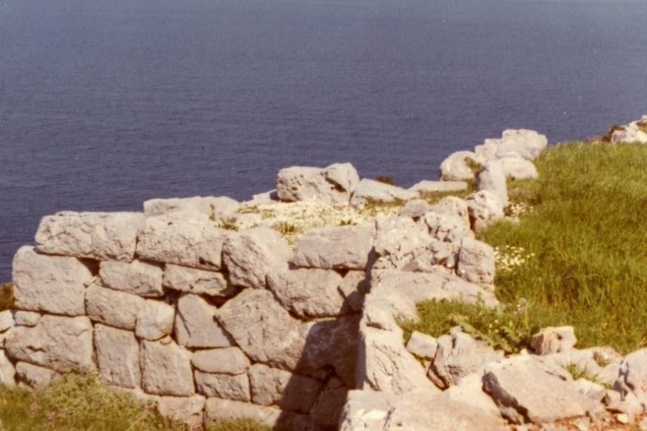 Τα τείχη της αρχαίας πόλης του Ζάρακος